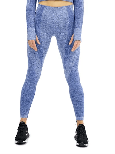 SEAMLESS LUXURY LEGGING -BLUE - Be Activewear