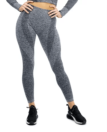 SEAMLESS LUXURY LEGGING - GREY - Be Activewear