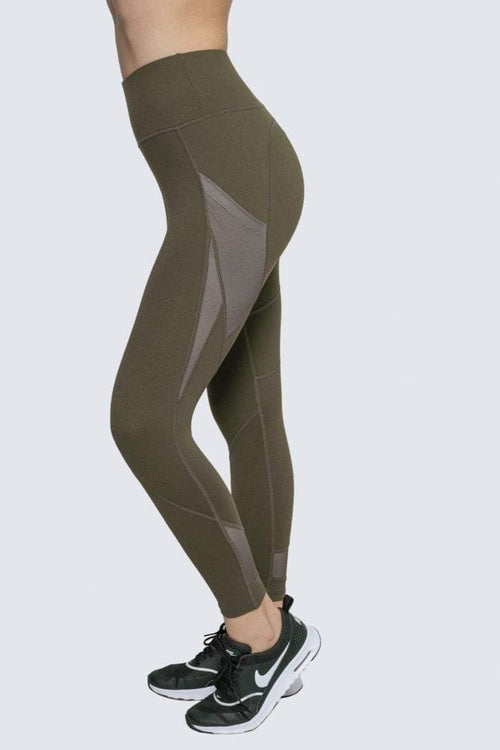 INNER ZEN ARMY GREEN LEGGINGS - Be Activewear
