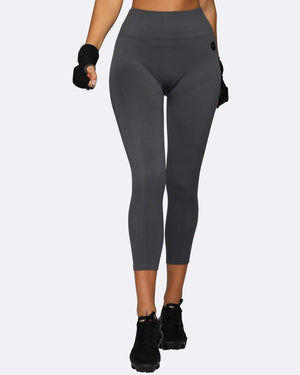 Nicky Kay Tights Seamless Tights - Charcoal