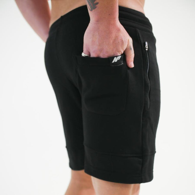 SPORTS SHORTS - BLACK - Be Activewear