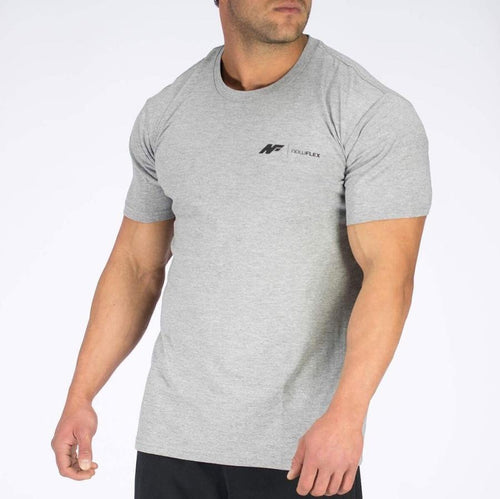 ESSENTIAL TEE - GREY MARBLE - Be Activewear