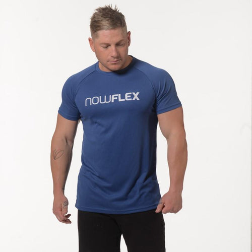 FLEX T-SHIRT - ROYAL BLUE - Be Activewear