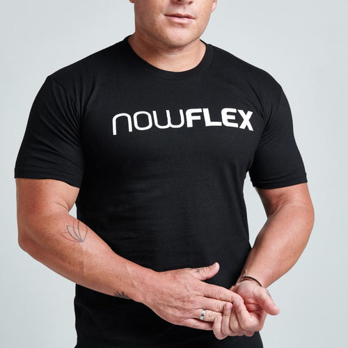 FLEX TEE - BLACK - Be Activewear