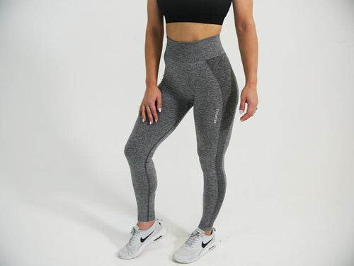 FLEX Seamless Leggings - Coal - Be Activewear