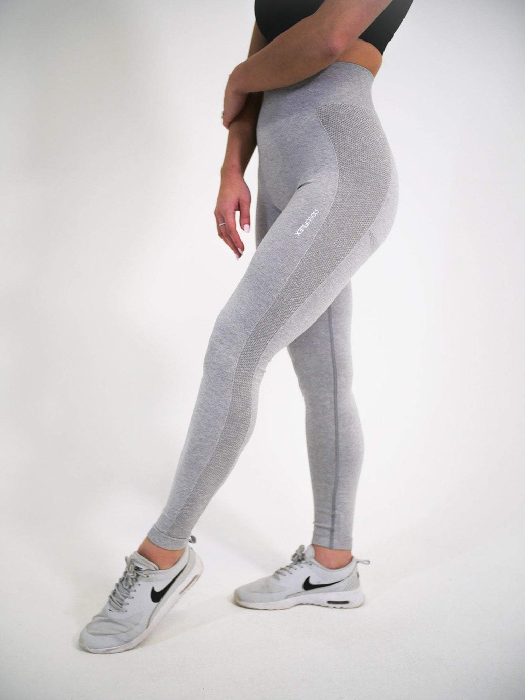 Now Flex Tights XS FLEX Seamless Leggings - Steel