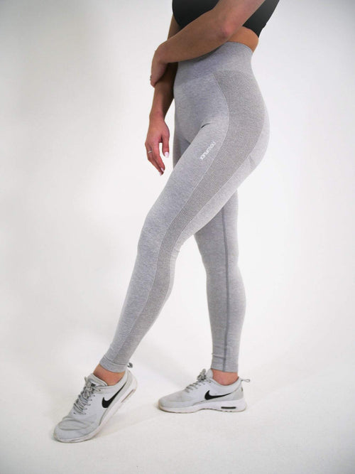FLEX Seamless Leggings - Steel - Be Activewear