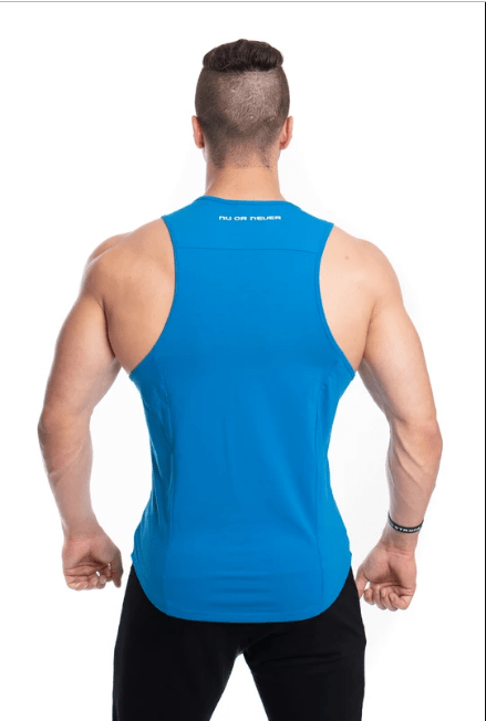 NU STRENGTH SINGLETS - Blue - Be Activewear