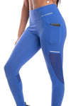 NU Modish Leggings - Blue - Be Activewear