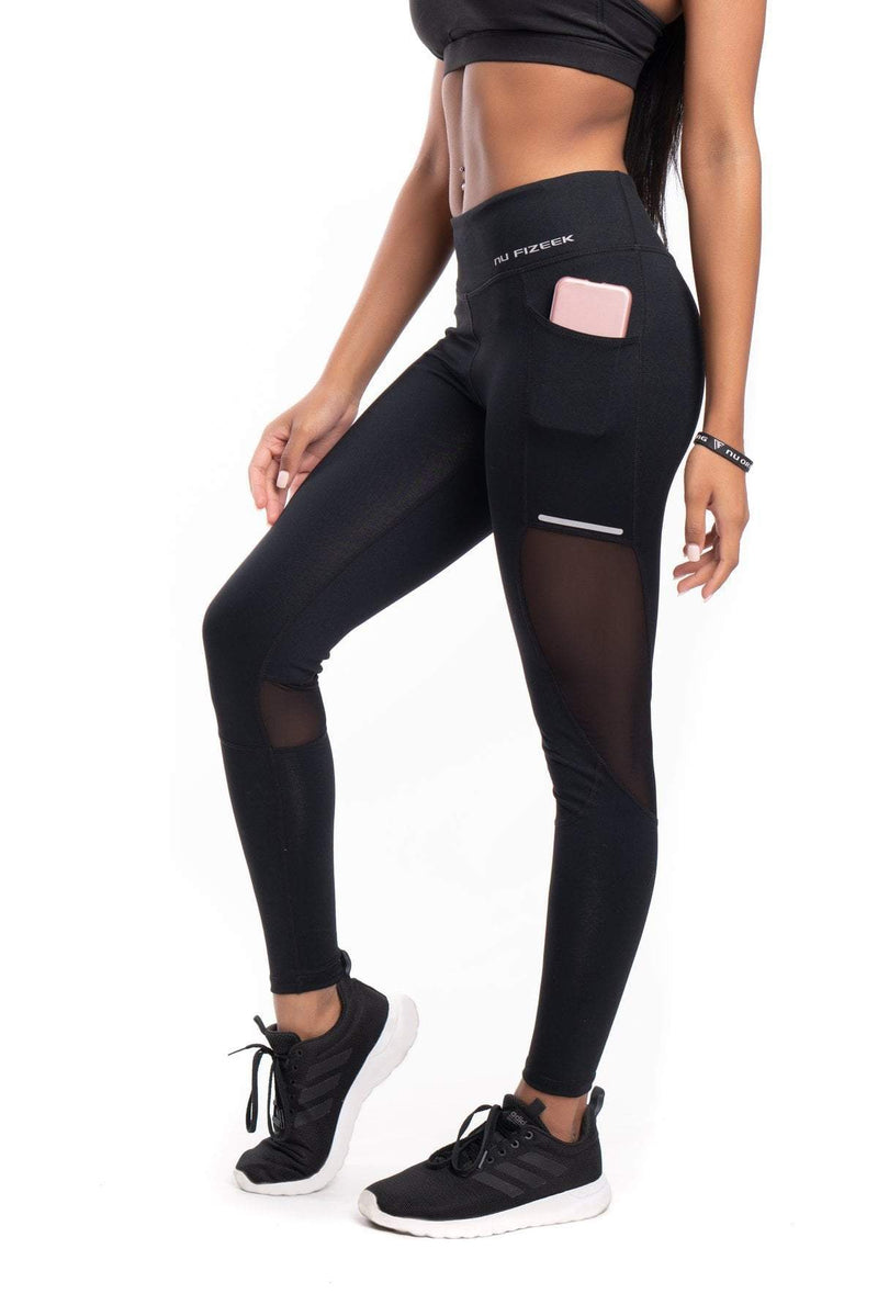 NU Modish Leggings - Black - Be Activewear