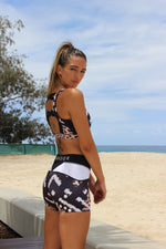 Geo Leopard Print Shorts (Limited Stock) - Be Activewear