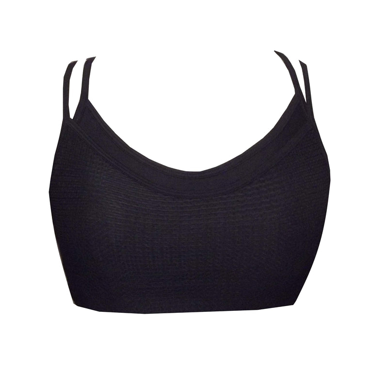 Sports Mesh Crop Top BK134 - Be Activewear
