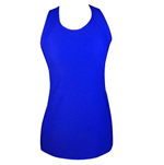 TK26 Electric Blue X Sports Tank Top - Be Activewear
