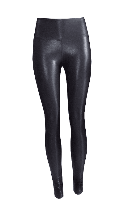 Rhapso Designs Tights XS Leather look Scrunch Bum Gym Leggings- Australian Made