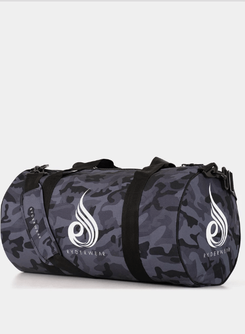 CAMO DUFFLE BAG - BLACK CAMO - Be Activewear