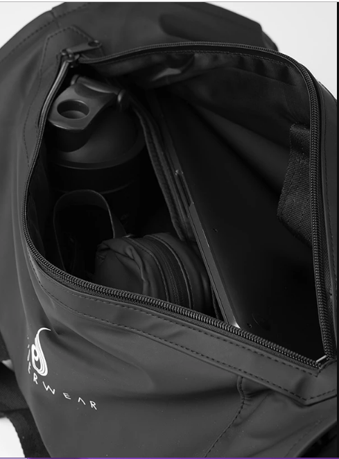 ESSENTIALS BAG - BLACK - Be Activewear