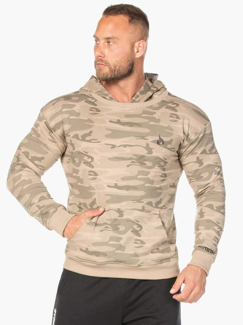 Ryderwear Hoodie CAMO PULLOVER HOODIE - TAN CAMO