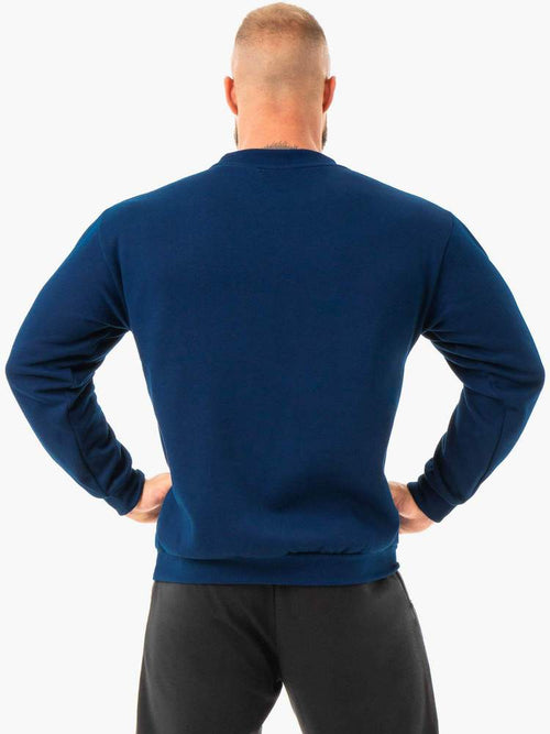 Ryderwear Jumper EASE FLEECE PULLOVER - NAVY