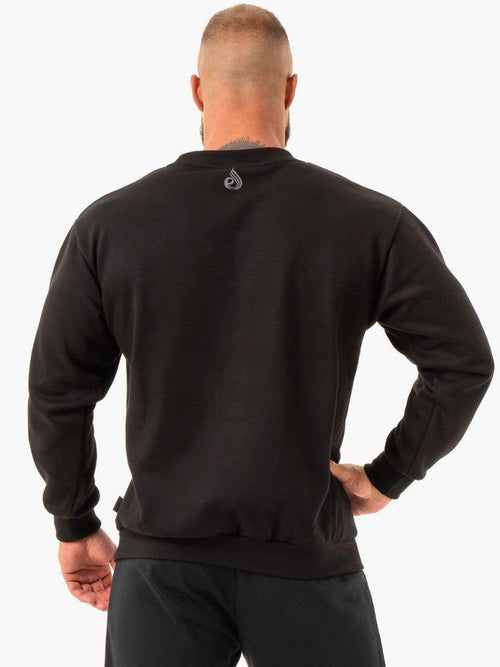 Ryderwear Jumper FORCE PULLOVER - BLACK