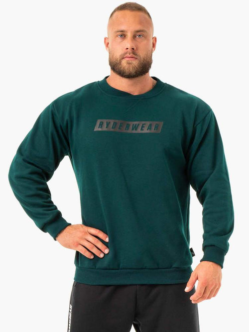 Ryderwear Jumper FORCE PULLOVER - FOREST GREEN