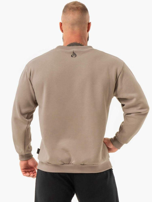 Ryderwear Jumper FORCE PULLOVER - TAN