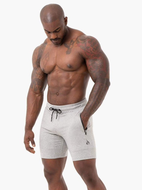 Ryderwear Shorts ENERGY TRACK SHORTS - GREY MARL