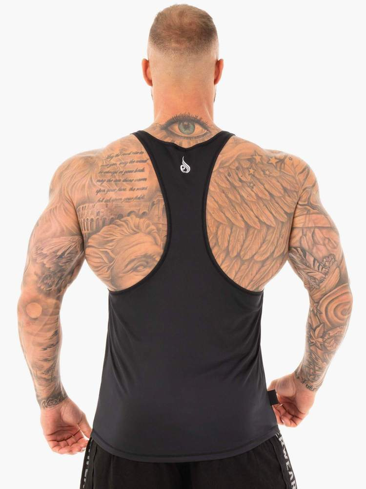 LIFT T-BACK STRINGER - BLACK