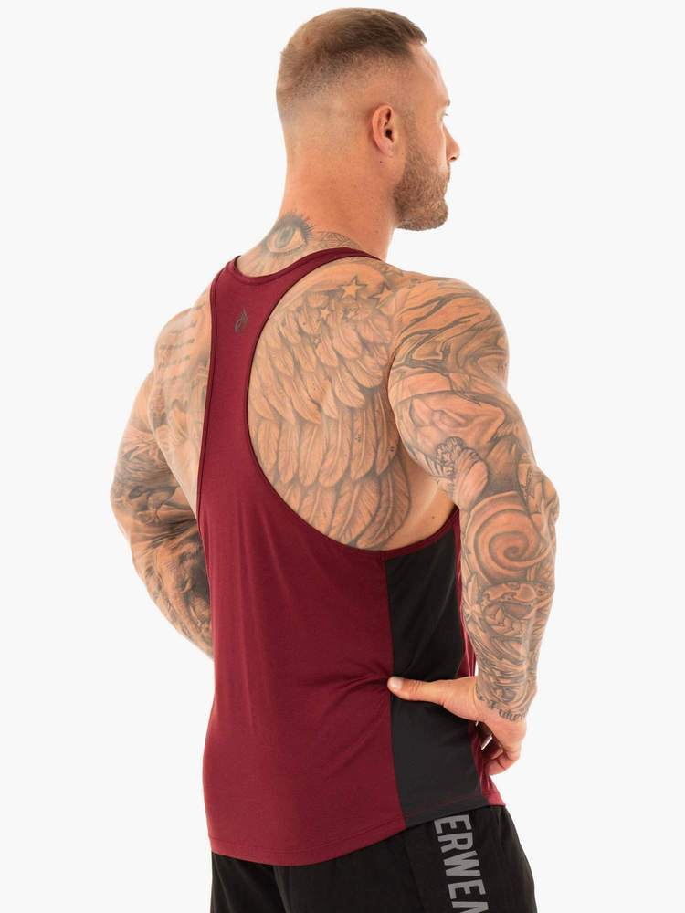 PERFORMANCE STRINGER - BURGUNDY