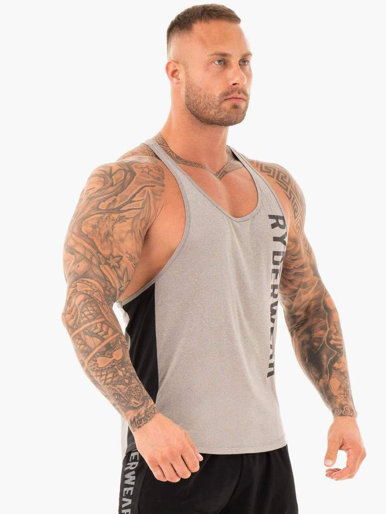 PERFORMANCE STRINGER - GREY MARL