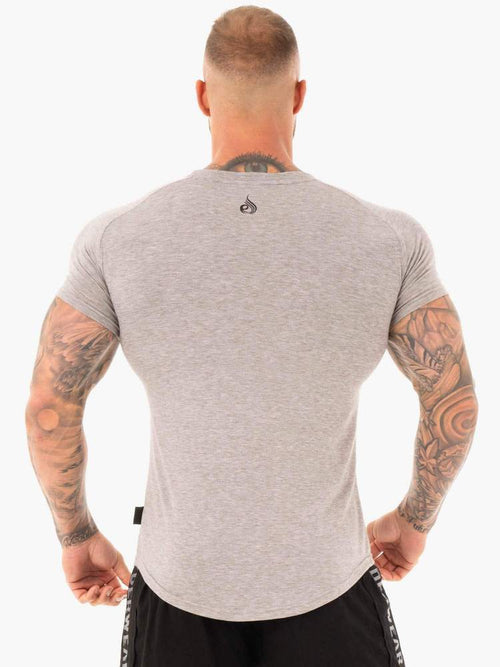 CORE T-SHIRT - GREY MARL