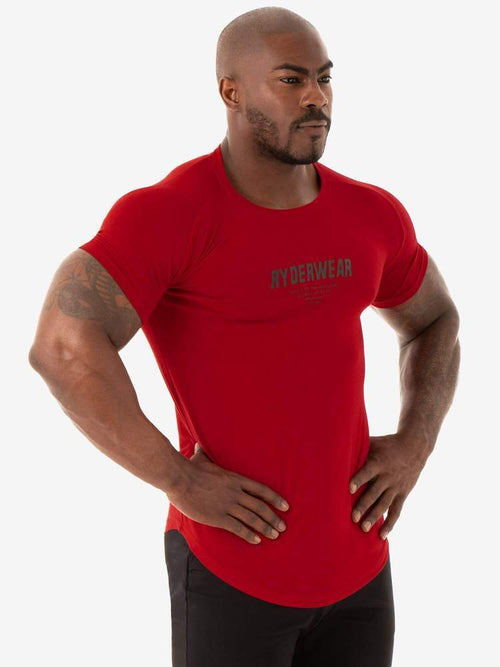 Ryderwear Tee CORE T-SHIRT -RED