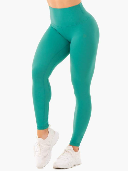 Ryderwear Tights NKD HIGH WAISTED LEGGINGS - TURQUOISE