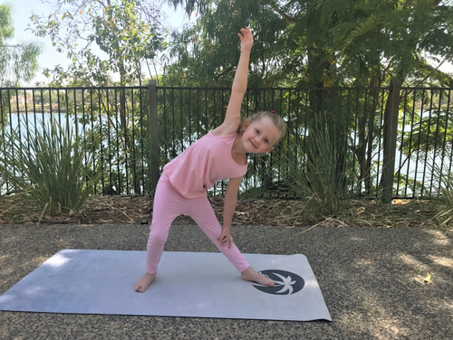 Antigua Palm Childrens Yoga Mat - Be Activewear