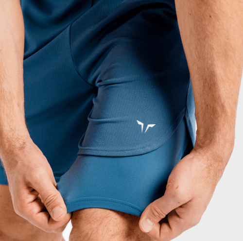Squat Wolf Shorts CORE MESH 2-IN-1 SHORTS – SLATE