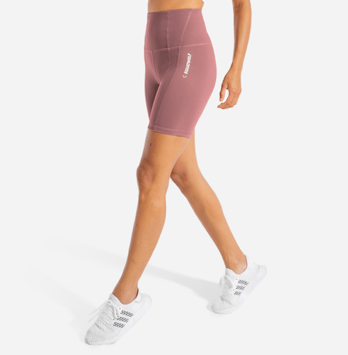 Squat Wolf Shorts WARRIOR CYCLING SHORTS – DUSTY ROSE