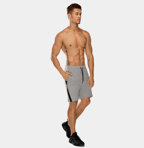 Squat Wolf Shorts WARRIOR PANEL SHORTS – GREY