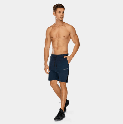 Squat Wolf Shorts WARRIOR PANEL SHORTS – NAVY