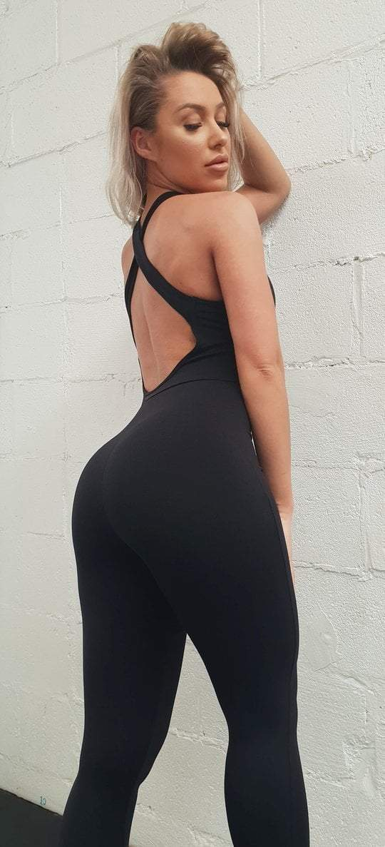 JUMPSUIT - Black - Be Activewear