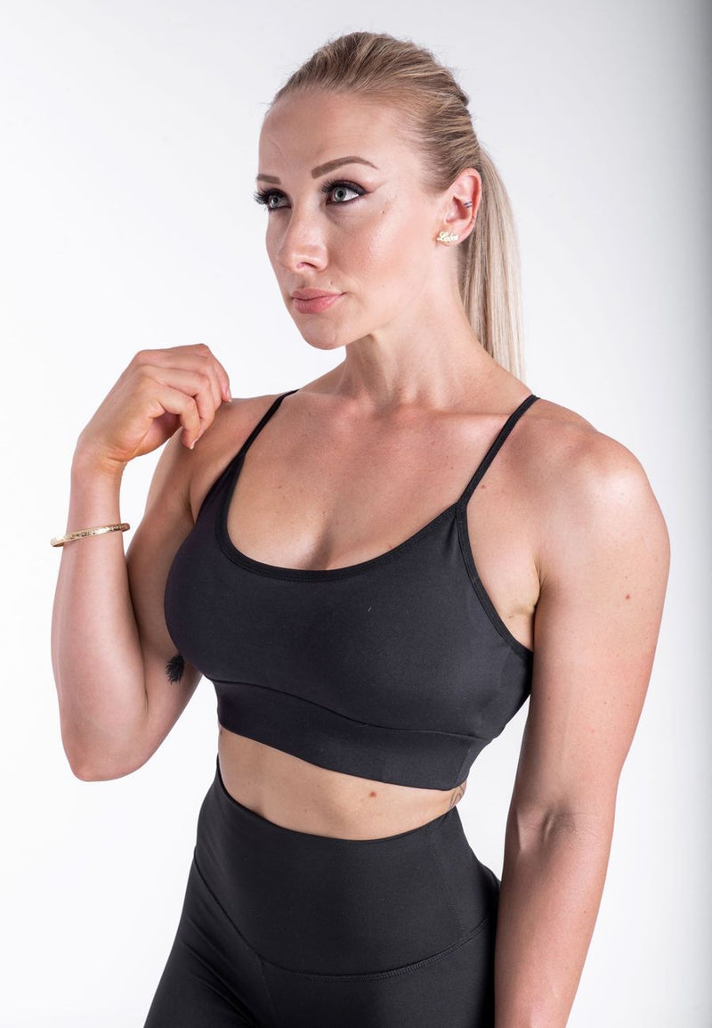 SPORTS BRA - NEW LIFE - Black - Be Activewear