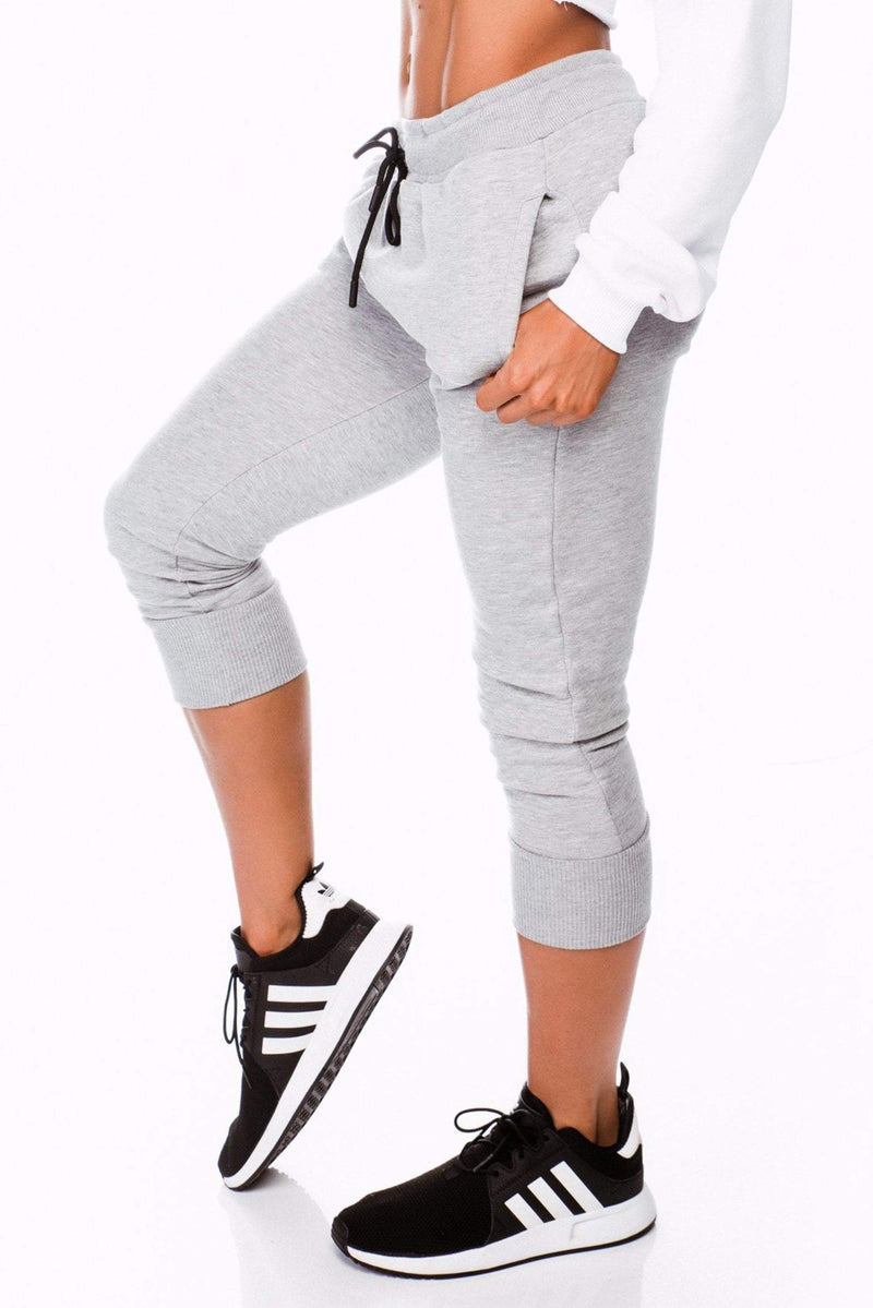 BALLER TRACKIES - GREY - Be Activewear