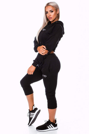 BALLER TRACKIES - BLACK (XS & S only) - Be Activewear
