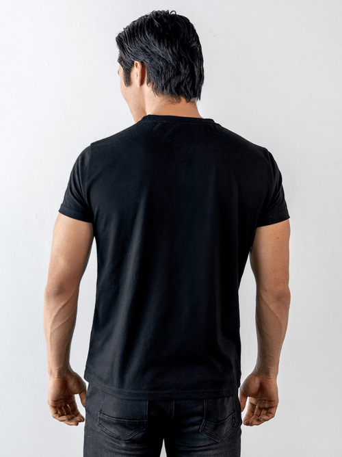 UrbanMotion V T-shirt Black