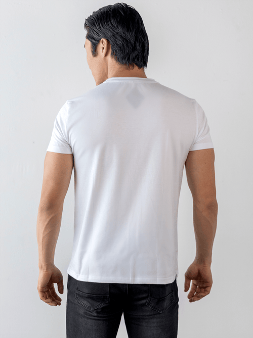 UrbanMotion V T-shirt White