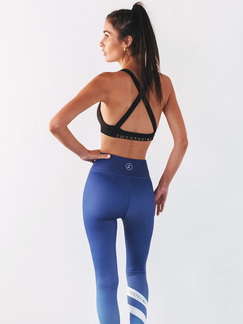 Harper Sports Tights Blue - Be Activewear