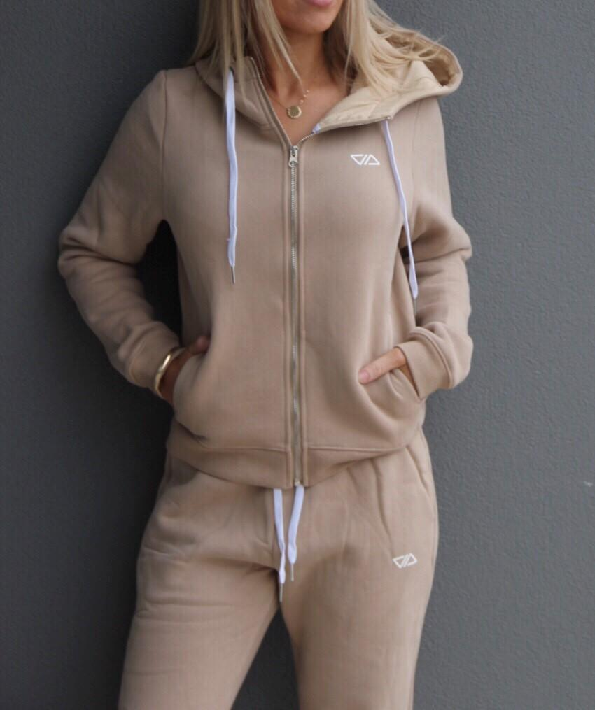 Comfort Jacket - TAN - Be Activewear