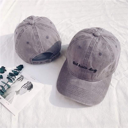 Vault Active Hat Bad Hair Day Cap Grey