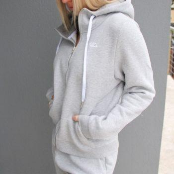 Comfort Jacket - Grey - Be Activewear