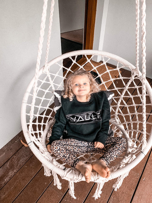 Kids Oversized Crew Neck (Unisex) - Be Activewear