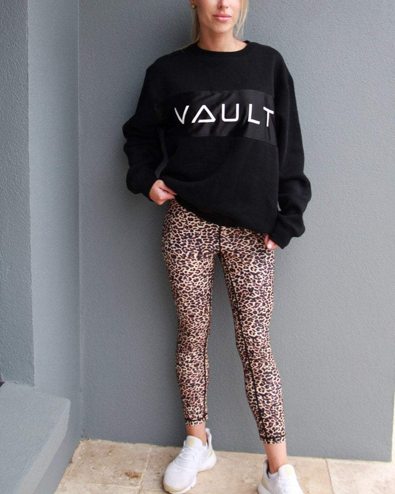 Instinct Leggings - Leopard - Be Activewear