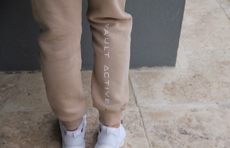 Comfort Jogger - Tan - Be Activewear